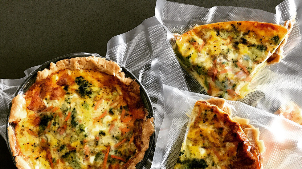 Mini-quiche for my daughter's lunchbox