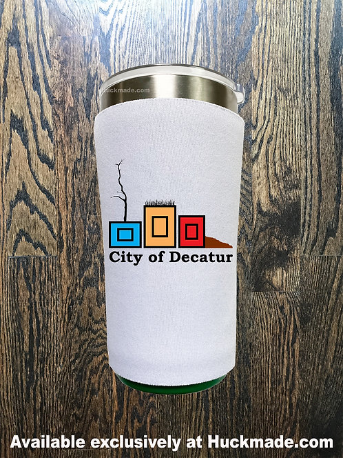 City of Decatur Planters, Decatur Planters, planterpride, Huckmade, Huckleberry Starnes, city of decatur, koozie, yeti