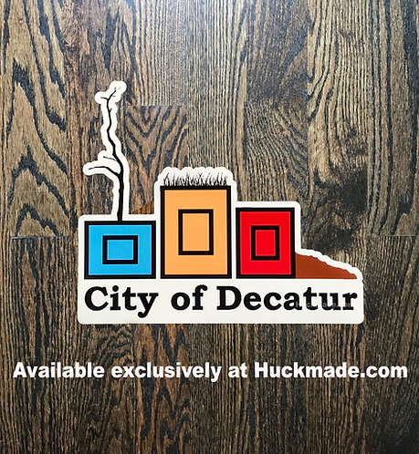 Decatur Planters: Sticker (Small)