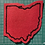 Thumbnail: State Silhouettes: Custom Chainstitch Patch