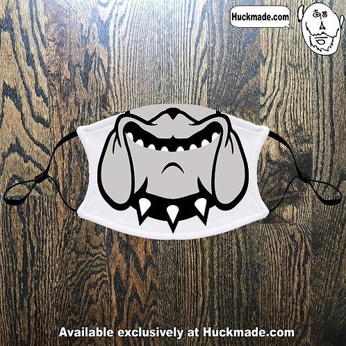 Decatur Clairemont Bulldog Smile: Adult Face mask
