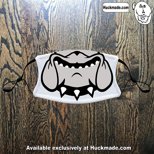 Decatur Clairmont Bulldog Smile: Youth Face mask