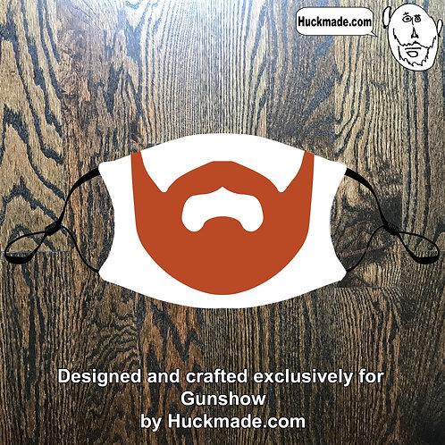 Custom Gunshow Redbeard: Adult Face mask