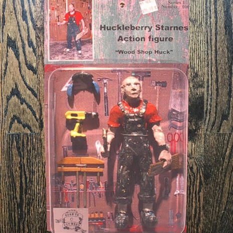 Action figure design and fabrication