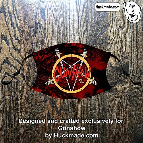 Custom Gunshow (Design 2): Adult Face mask