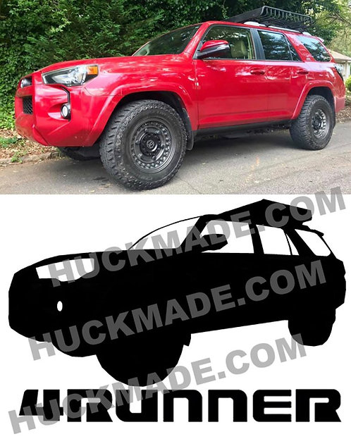 4runner, decal, decals, sticker, stickers, custom decals, custom stickers, huckmade