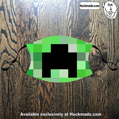 8-Bit Creep: Adult Face mask