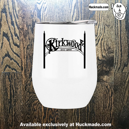 Kirkwood Sign : Stainless Steel Wine Tumbler