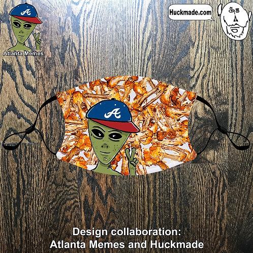 Atlanta Memes: Pocket Face mask (design 1)