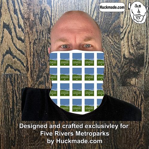 5 Rivers Metroparks: Custom Neck Gaiter/Face mask (design 3)