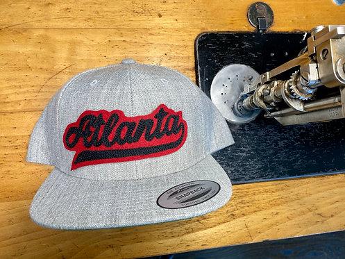 Atlanta Varsity Chainstitch: Wool Trucker Hat