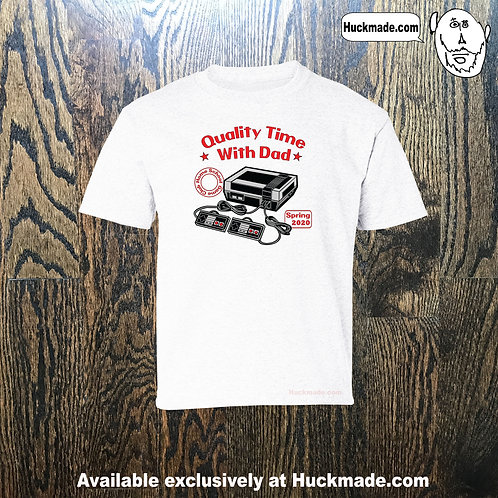 Quality Time with Dad (Nintendo): Adult Unisex T-Shirt
