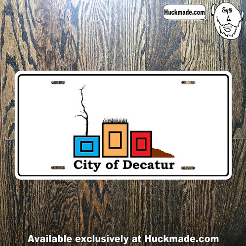 Decatur Planters: License Plate