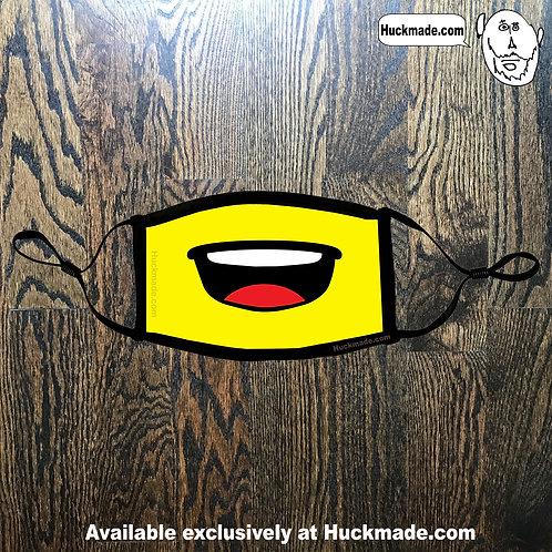 Brick Face Yell: Face mask