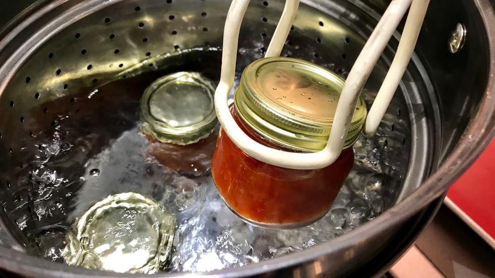 Homemade pepper jelly