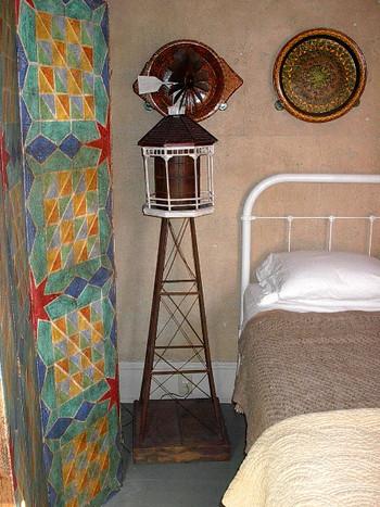 Water tower lamp