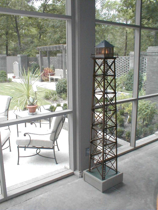 Fire Tower model made for Brookgreen Gardens