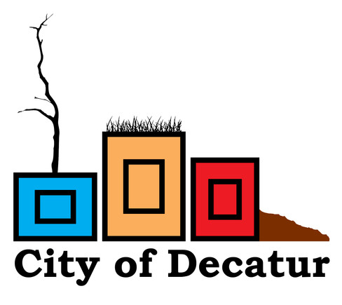 City of Decatur Planters design