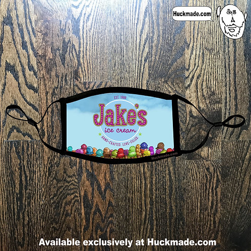 Custom Jake's Ice Cream: Face mask