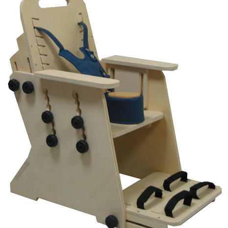 Positioning chair design and fabrication