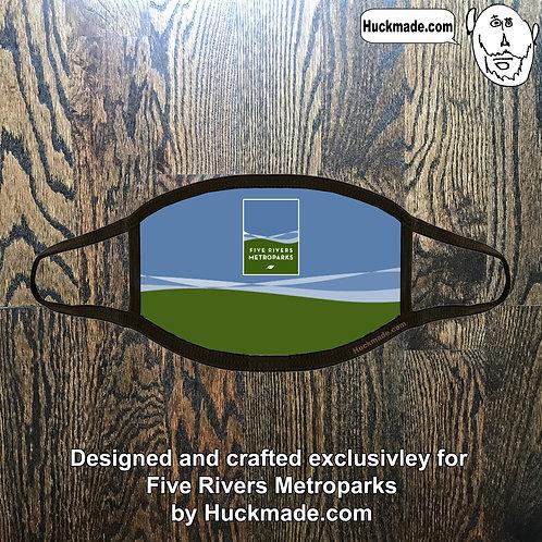 5 Rivers Metroparks: Custom Plush Face mask (Design 1)