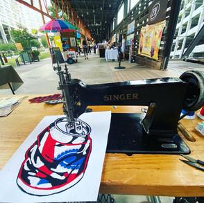 Live stitching at Ponce City Market