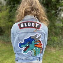 """Glory"" kid's denim jacket"
