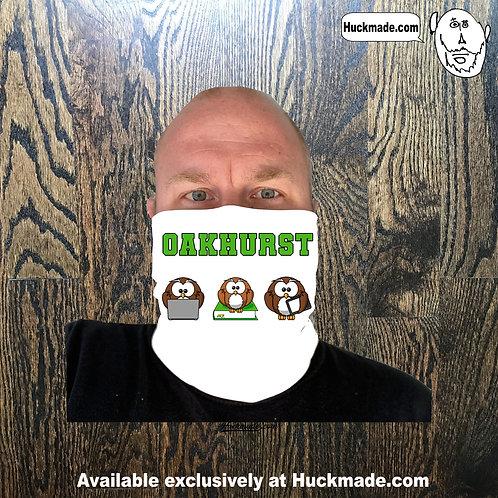 Oakhurst Owls (Distance Learning): Neck Gaiter/Face mask