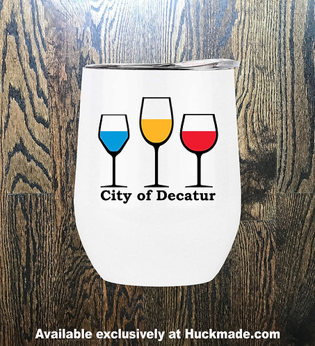 Decatur Wine: Stainless Steel Wine Tumbler