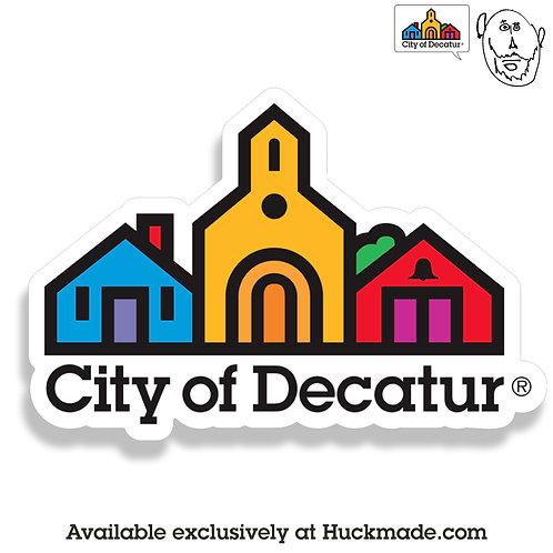 City of Decatur: Magnet (large)