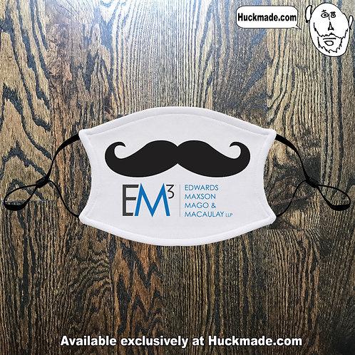 EM3 Mustache 1: Adult Face mask