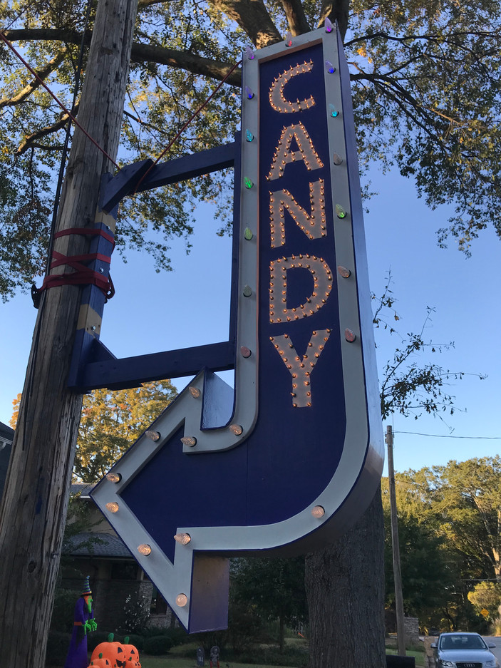 Candy sign