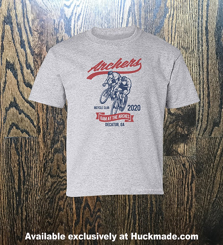 6am archers, Huckmade, bike shirt, bicycle shirt, bike club, bicycle club, Atlanta bike, ATL bike