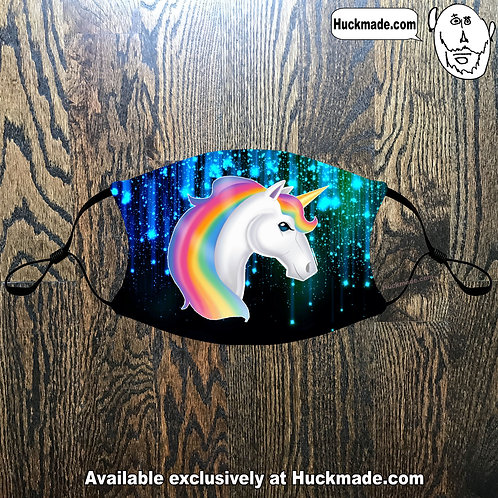 Unicorn: Adult Face mask
