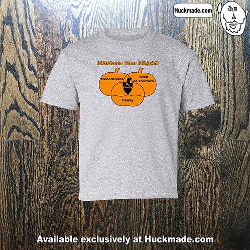 Halloween Venn Diagram: Shirts and Sweats
