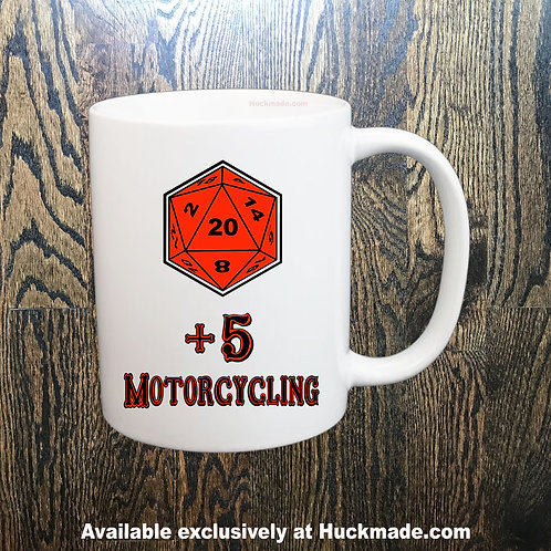 +5 Motorcycling: Coffee Mug