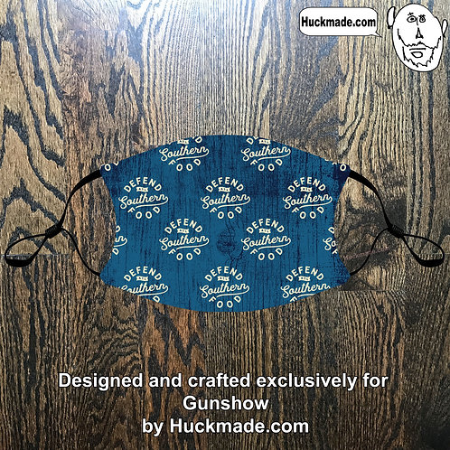 Custom Gunshow (Design 4): Adult Face mask