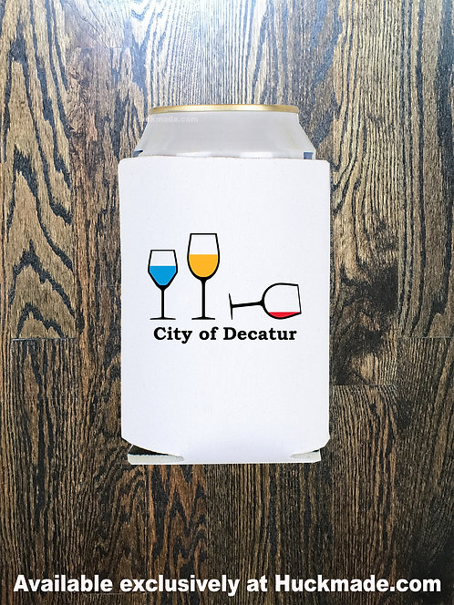 Decatur Wine Party: Can koozie