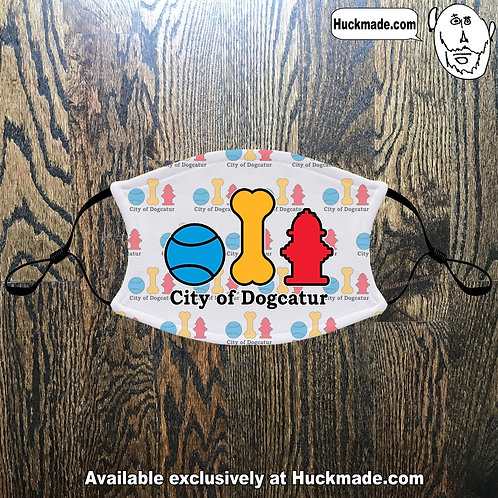 City of Dogcatur: Adult Face mask (2 styles)