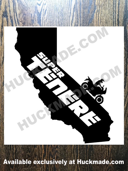 Super Tenere California: Decal