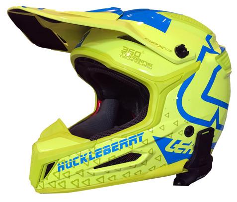 Custom Leatt helmet name plate
