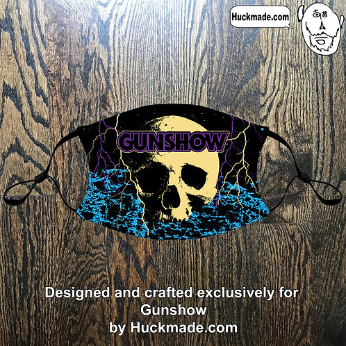 Custom Gunshow (Design 1): Adult Face mask