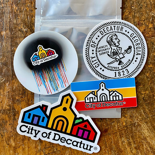 City of Decatur: Sticker Pack (4)