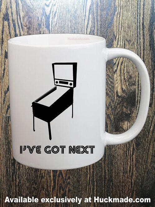 I've Got Next (Pinball): Coffee Mug