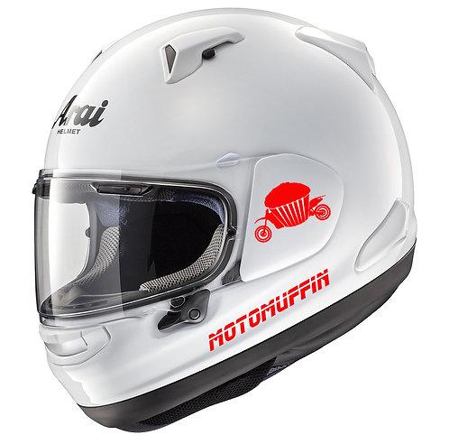 Helmet decal, decals, sticker, stickers, custom decals, custom stickers, huckmade
