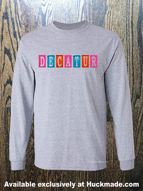 Decatur Planters Photo: Adult Long Sleeve Shirt