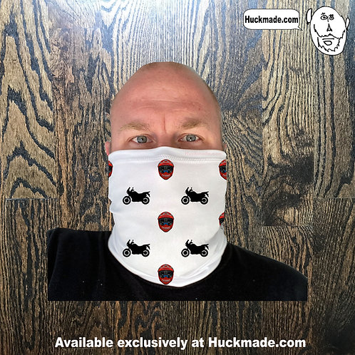 Custom Poshgoonda Super Tenere: Neck Gaiter/Face mask