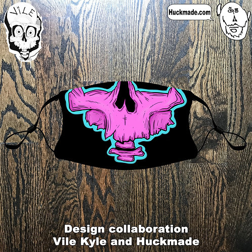 Vile Kyle: Youth Pocket Face mask (design 1)