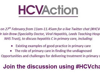 Hepatitis twitter discussion