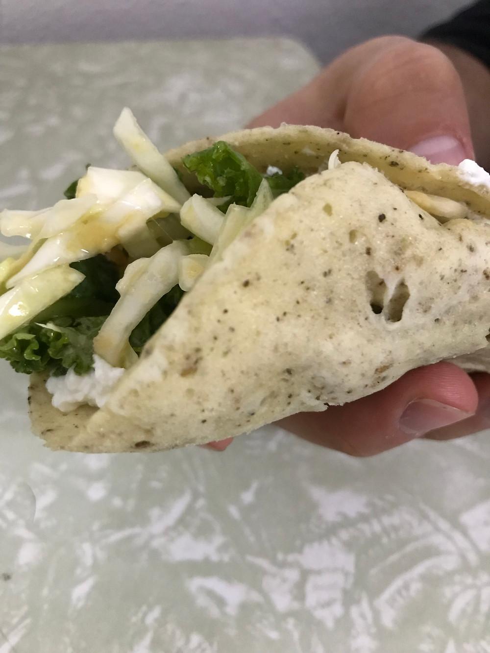 tahini healthy bread replacement תחינה לפה לחם בריא
